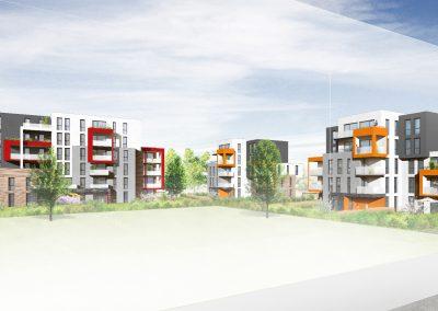 logements Habitat de l'Ill à Lingolsheim