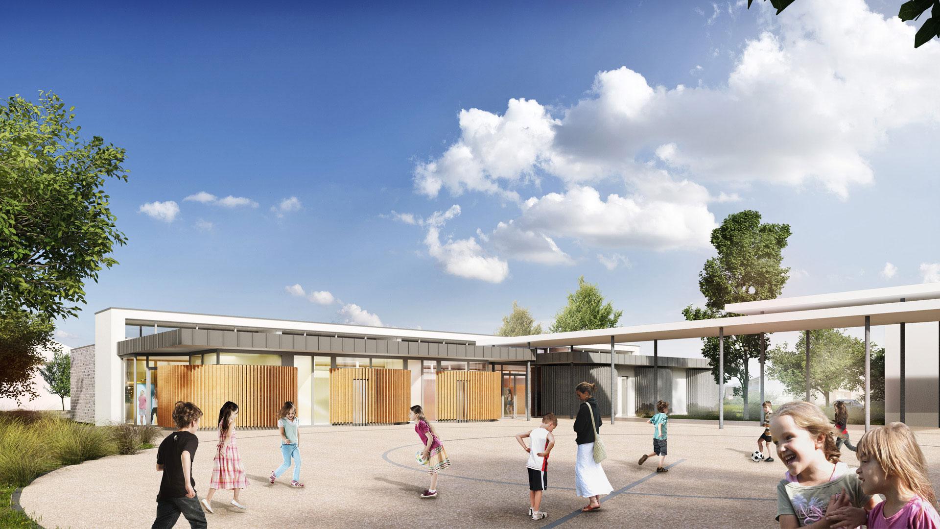 école à Hangenbieten - photo A.Brion