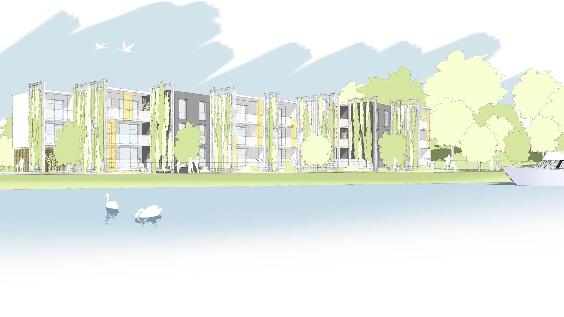 logements Habitat de l'Ill à Vendenheim - photo PSA