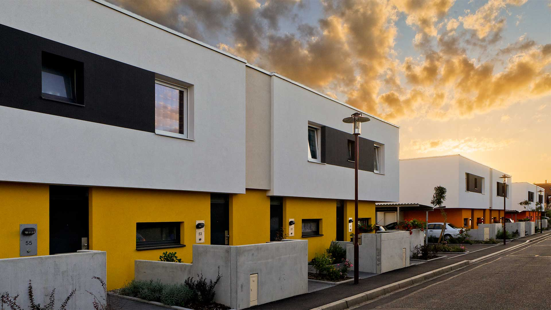 logements Habitat de l'Ill à Illkirch-Graffenstaden - photo Isibane