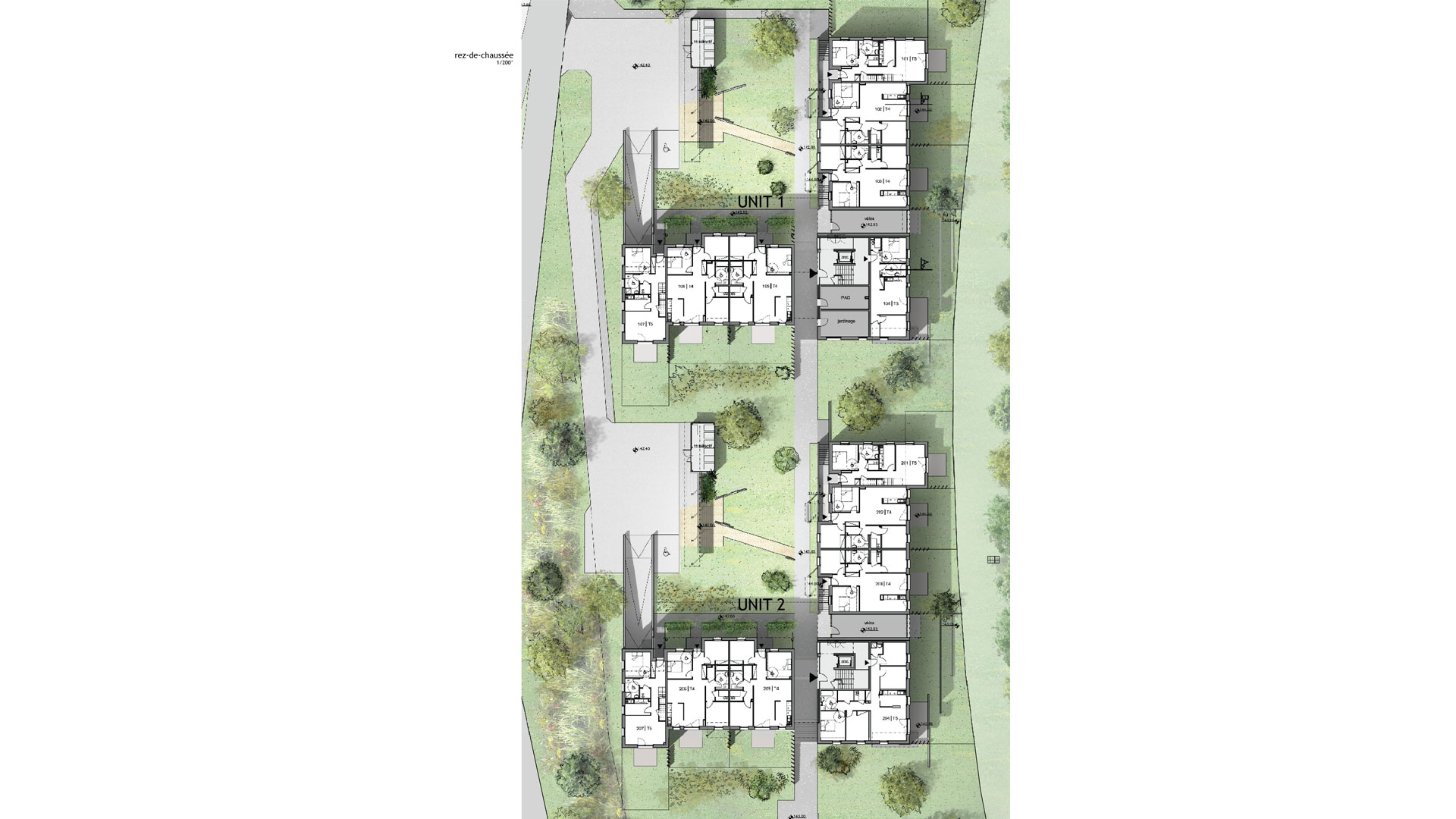 logements CUS Habitat à Lingolsheim - photo PSA