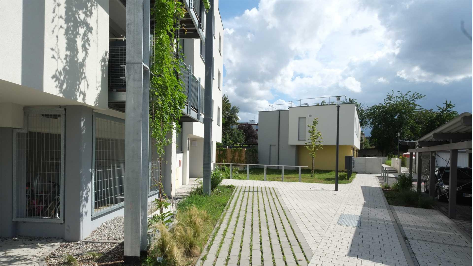 logement ICF à Koenigshoffen
