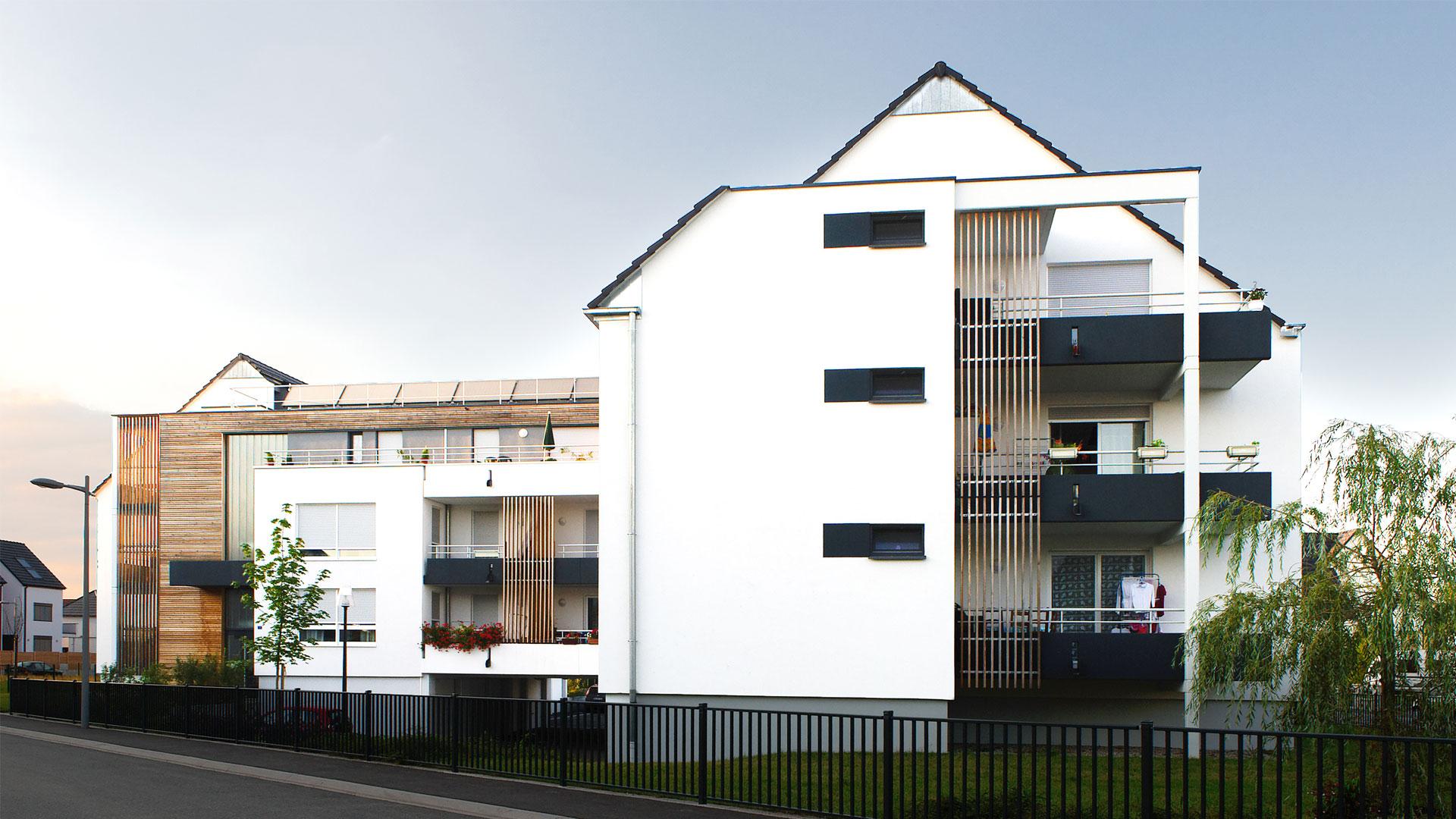 logements Habitation Moderne à Fegersheim - photo Isibane