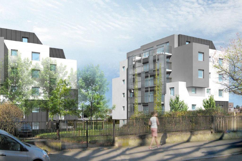 logements ICF Nord-Est à Koenigshoffen - photo L.Matagne