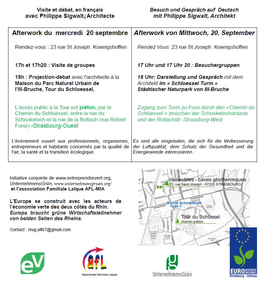 Programme Afterwork 20 Septembre